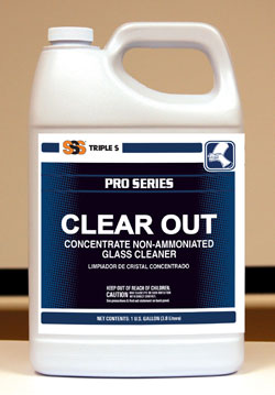 Clear Out Concentrate Non-Amm. Glass Cleaner, 4/1Gallon