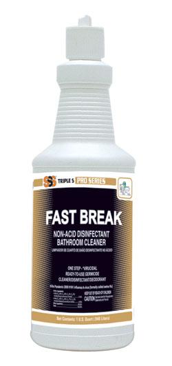 Fast Break Non-Acid Disinfectant Cleaner 12Qt/Cs