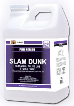Slam Dunk 25 Ultra High Solids UHS Finish, 2/2.5 Gal. Case