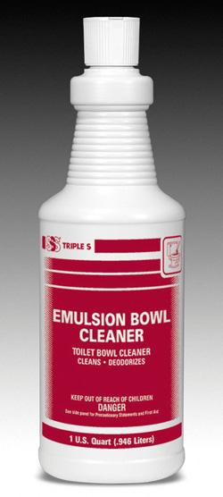 Emulsion Bowl Cleaner (EPA),12qts Per Case