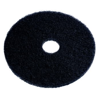 "Americo 15"" Black Stripping Floor Pad, 5 Per Case"