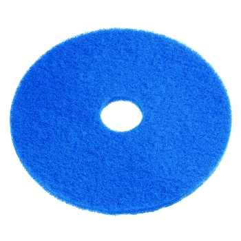 "SSS 13"" Blue Cleaning Floor Pad, 5/Cs."