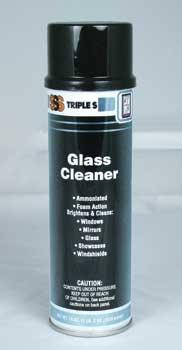SSS Glass Cleaner Aerosol 12/19 Oz. Cans Per Case