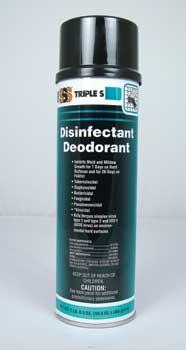 Disinfectant Deodorant Aerosol, 12/16.5oz Case