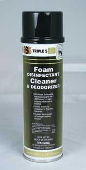 Foam Disinfectant Cleaner 12 x 19oz Bottle Per Case