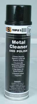 Metal Cleaner & Polish Aerosol, 12/15oz Per Case