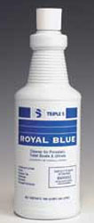 Royal Blue Bowl Cleaner 12/1 Quart Per Case