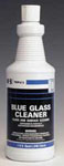 Blue Glass Cleaner Ammonia Based, 12Qts Per Case