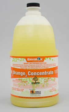 EnvirOx H2Orange2 Concentrate 117, 4 Gallons Per Case