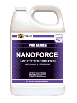 Nanoforce Nano Powered Floor Finish, 4/Gallons Per Case