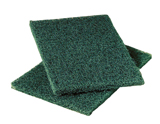 #86 HD Scouring Hand Pad Green, 6 x 9, 15/Case