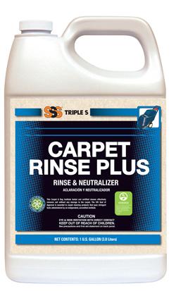 Carpet Rinse Plus 4 x 1 Gallon/Case