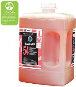 Navigator #54 Savanna Neutral Floor Cleaner, 2/2ltr Bottle