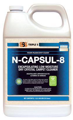 N-CAPSUL-8 Encapsulating Low Moisture Carpet Care4 x 1 Ga