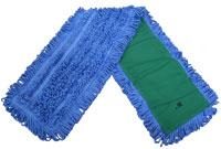 "NEXGEN 36"" Blue MicroFiber Looped End Dust Mop Pad"
