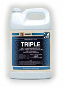 Triple Carpet Cleaner/Deodorizer & Hard